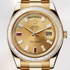 Rolex Oyster Perpetual Day-Date II Yellow Gold Replica Watch