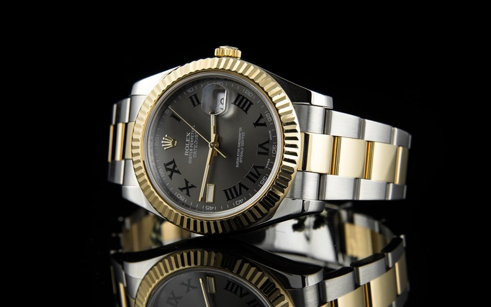 rolex oyster perpetual datejust ii rolesor 41mm watch replica