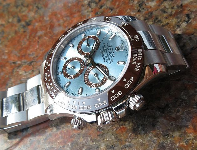 Rolex Oyster Perpetual Cosmograph Daytona Ice Blue Dial