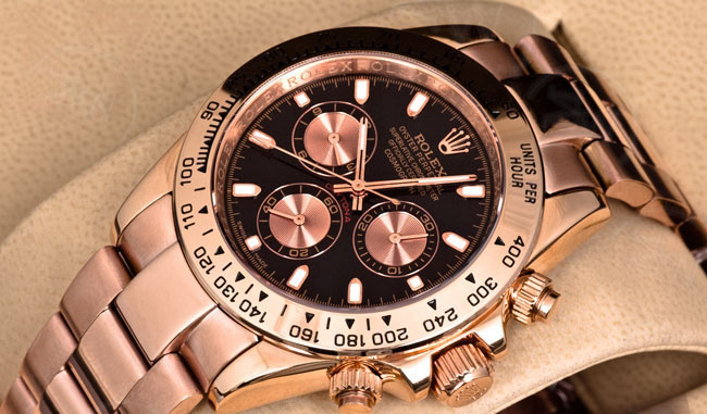 Rolex Oyster Perpetual Cosmograph Daytona Everose gold