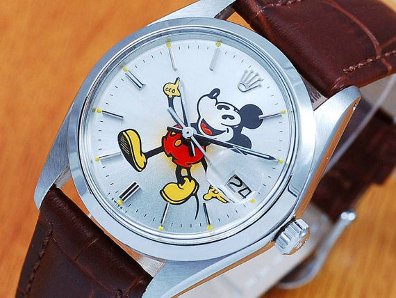 Rolex Oyster Date Mickey Mouse Replica Watch