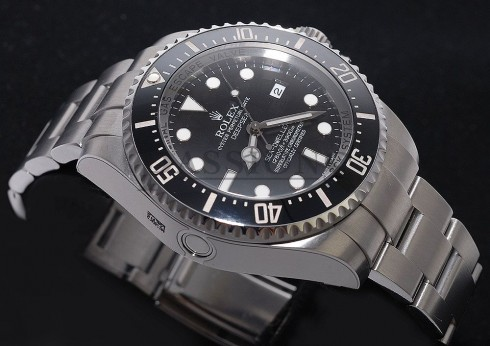rolex sea dweller deepsea black index dial oyster