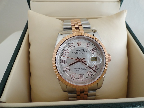 Rolex Datejust Two Tone Watch
