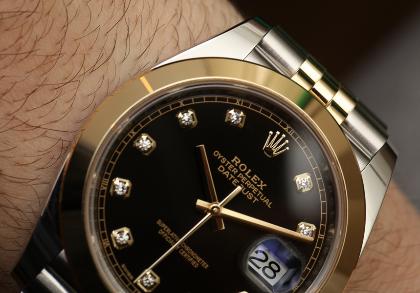 Rolex Datejust 41 Two-Tone Watches