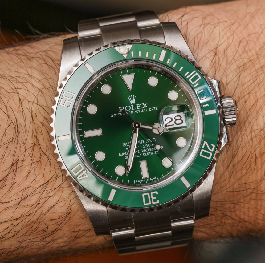 Rolex Submariner 116610LV In Green Watch
