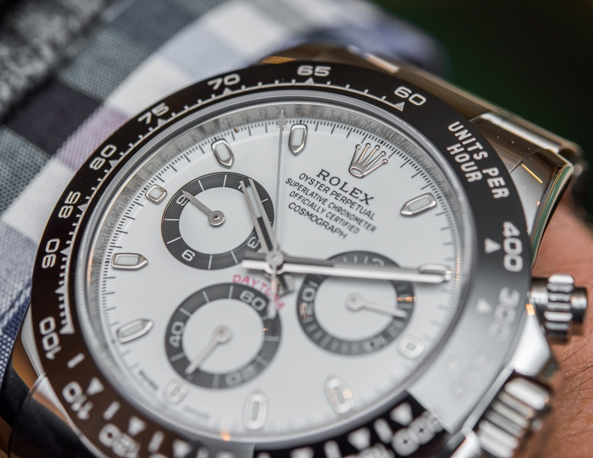 New Rolex Daytona Review Replica Cosmograph Daytona Watch With Black Ceramic Bezel & Updated Movement Hands-On Hands-On