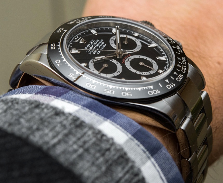 New Rolex Daytona 6264 Replica Cosmograph Daytona Watch With Black Ceramic Bezel & Updated Movement Hands-On Hands-On