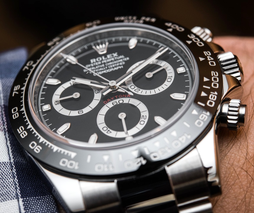 New Rolex Daytona R Series Replica Cosmograph Daytona Watch With Black Ceramic Bezel & Updated Movement Hands-On Hands-On