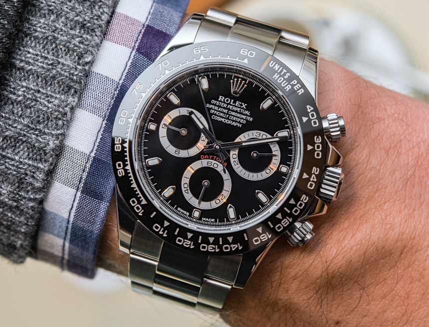 New Rolex Cosmograph Daytona Watch With Black Ceramic Bezel & Updated Movement Hands-On Hands-On