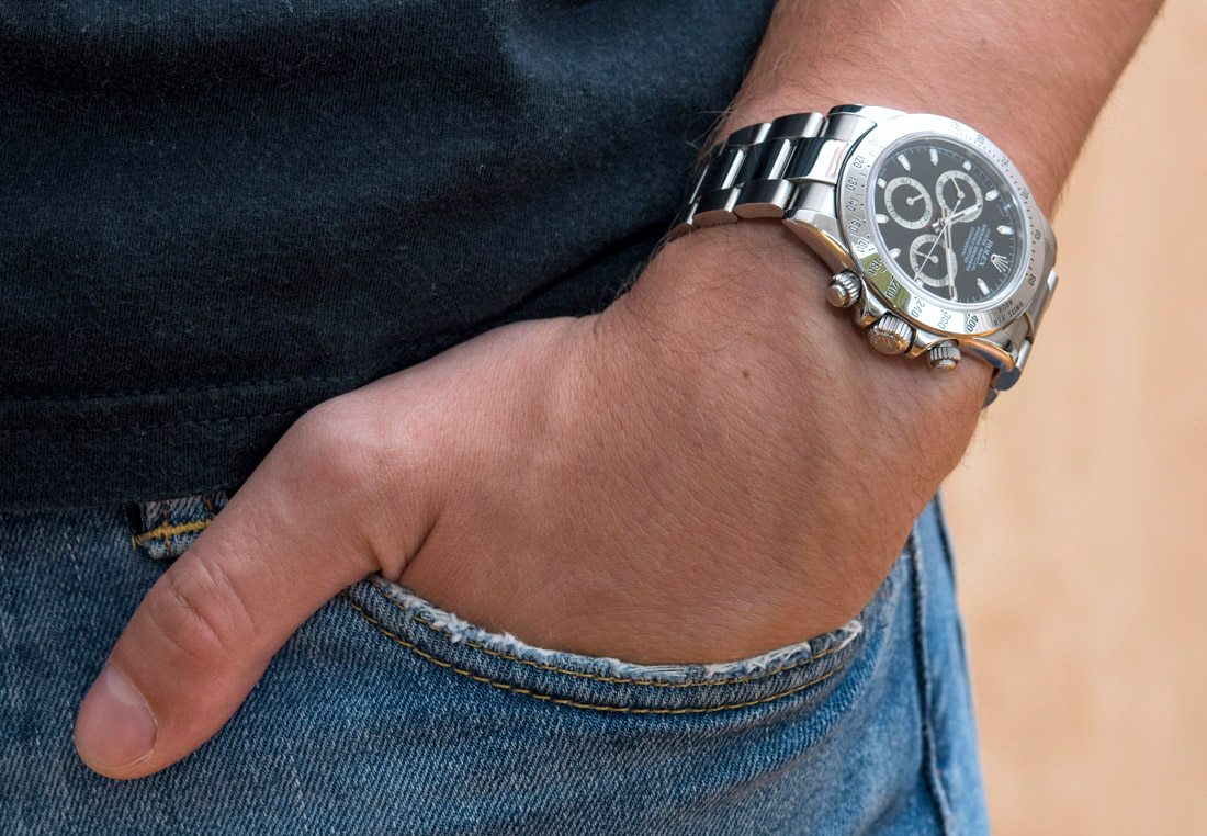 Best Quality Rolex Daytona 116520 In Steel With Black Dial