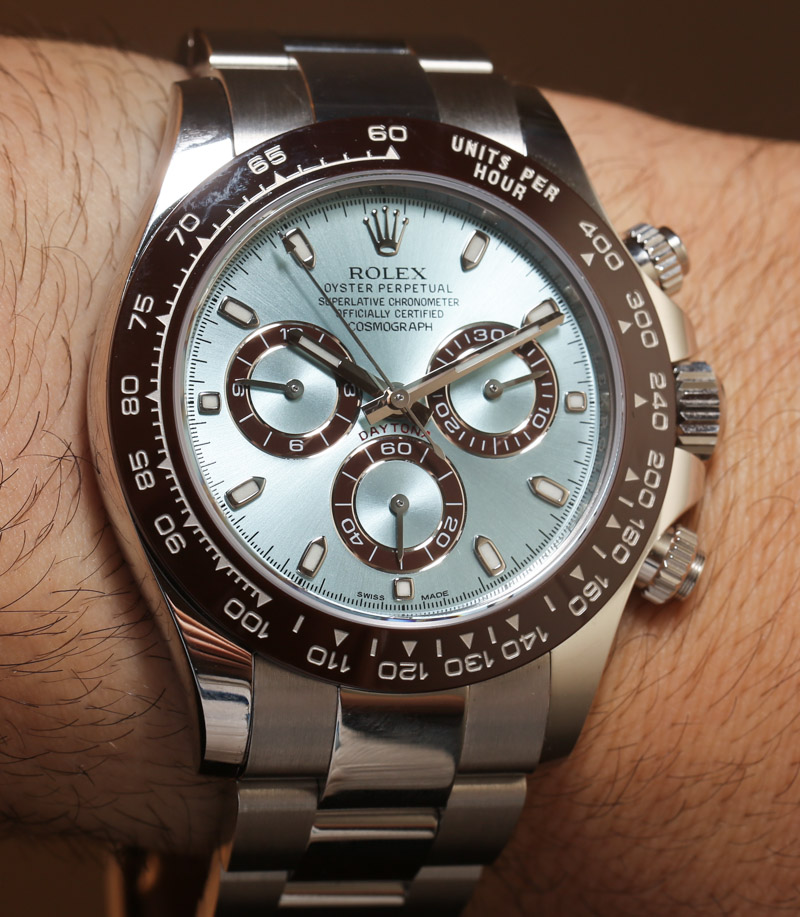 Rolex Cosmograph Daytona 116506 In Platinum Hands-On: An Homage To Paul Newman? Hands-On