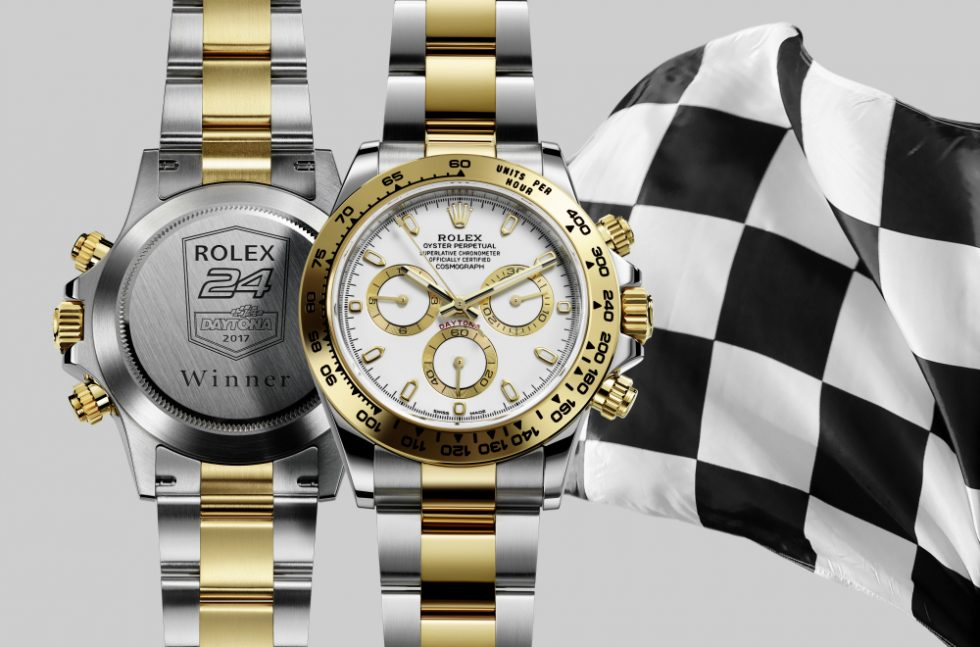 The Rolex Daytona Watch Given To Winner Of 2017 Rolex 24 Hours Of Daytona Race Shows & Events