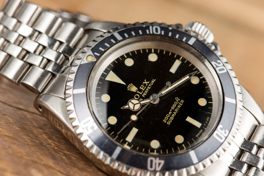 A Rolex T Submariner Replica Submariner Ref. 5513 Gilt Dial Watch Purchased To Impress A Prince Hands-On