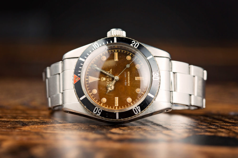 Rolex Submariner 'Big Crown' Tropical Dial Ref. 6538 Watch With A Long History (And A James Bond 007 Connection) Hands-On