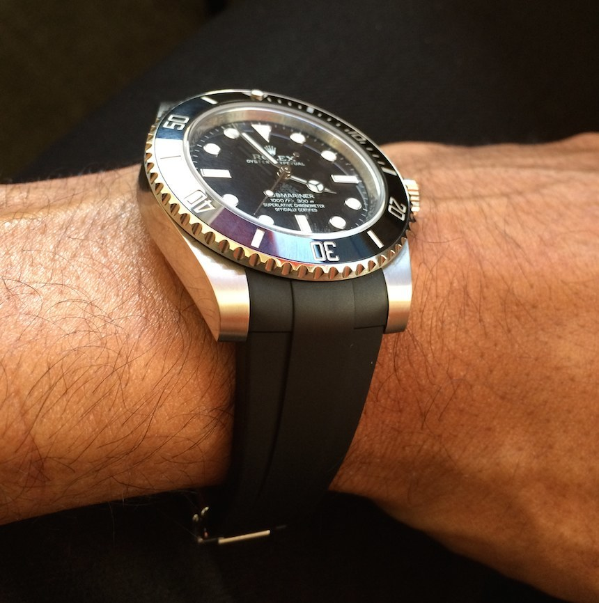 Reviewing The RubberB Strap For Rolex Submariner And GMT Master II Luxury Items
