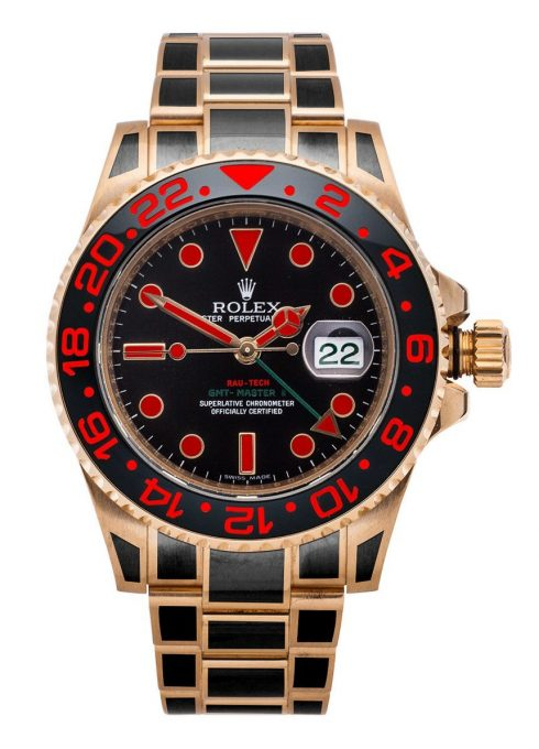 Finally! Colorful Coatings For Most Metals: Rau-Tech Custom Prix D'une Rolex Gmt Master Replica And Other Watches Watch Releases