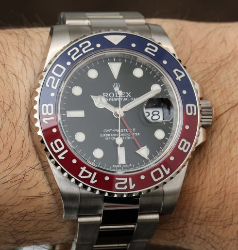 Rolex GMT-Master II 116719 BLRO Watch With Red & Blue Ceramic: Return Of The Pepsi Bezel Hands-On