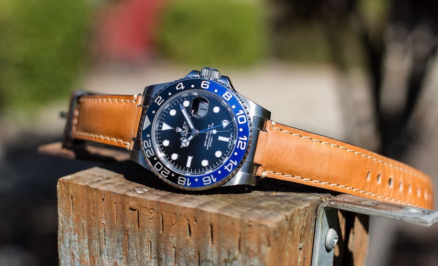 Everest Leather Straps For Rolex Gmt Master For Diving Replica Watches Preview Hands-On