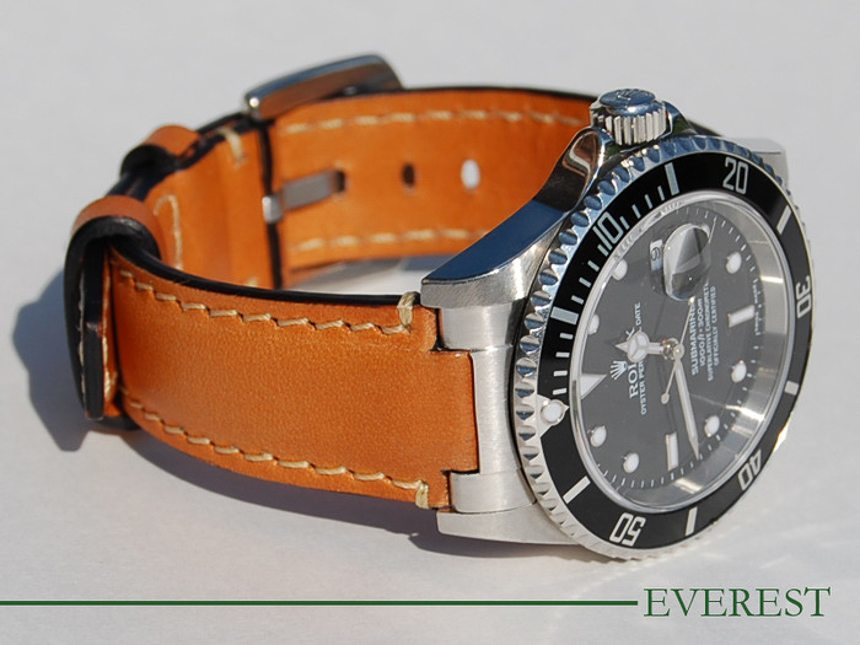 Everest Leather Straps For Rolex Watches Preview Hands-On