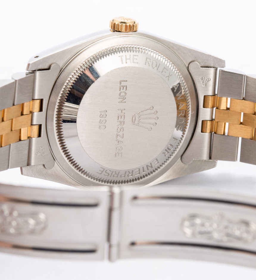 An Example Of A Rolex Datejust Replica Replica 'Awards For Enterprise' Trophy Watch Hands-On