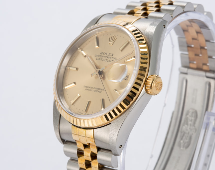 An Example Of A Rolex Datejust Quartz 17014 Replica 'Awards For Enterprise' Trophy Watch Hands-On