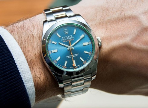 Rolex Milgauss Z Blue Dial 116400GV Watch