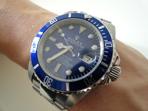 Rolex Submariner Date blue bezel blue dial replica watch