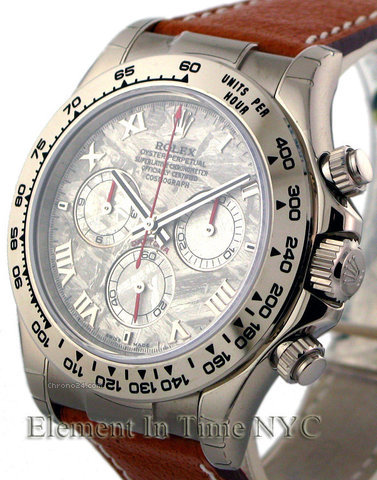 Rolex Daytona Meteorite Dial Watch Available On James List Sales & Auctions