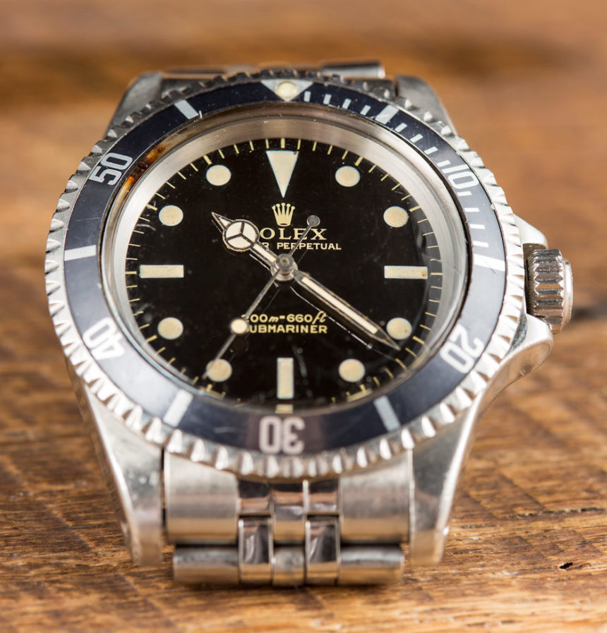 A Rolex Submariner Ref. 5513 Gilt Dial Watch Purchased To Impress A Prince Hands-On