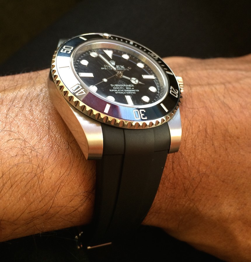 Reviewing The RubberB Strap For Rolex Submariner Imitation Replica Submariner And GMT Master II Luxury Items