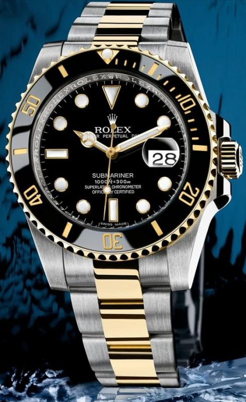 Rolex Submariner Two-Tone Watches For 2009: I Finally Caught The Fever Watch Releases