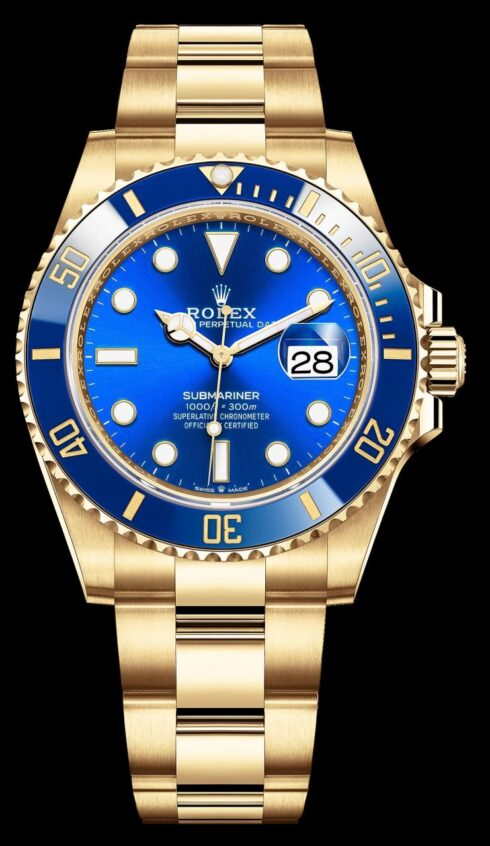 Rolex Submariner Date 126618 Yellow Gold Fake Watches